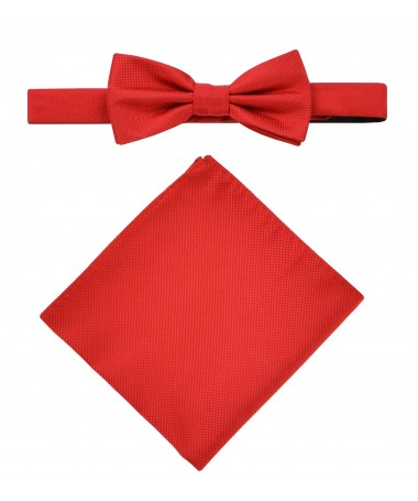 Bow Tie Victorio + pocket square Lux 006