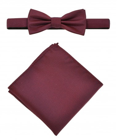 Bow Tie Victorio + pocket square Lux 011