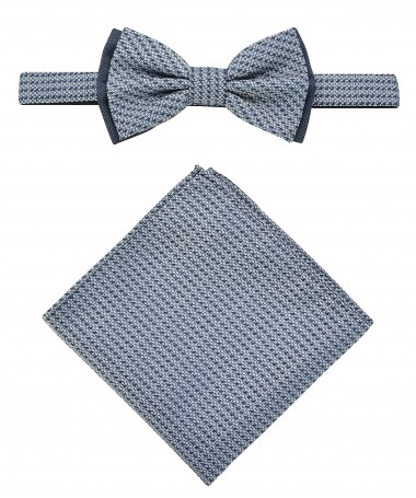Bow Tie Victorio + pocket square Lux 031