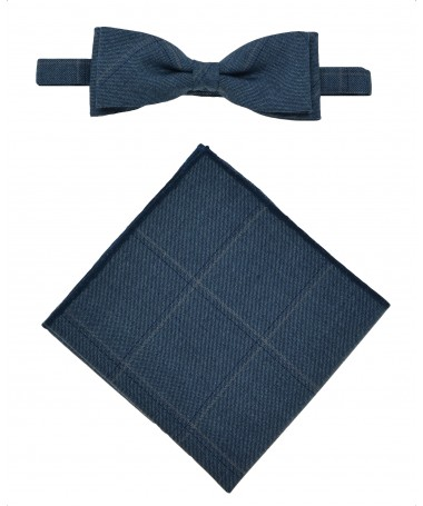 Bow Tie Victorio + pocket square Lux 039
