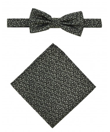 Bow Tie Victorio + pocket square Lux 073
