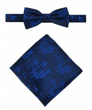 Bow Tie Victorio + pocket square Lux 081