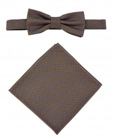Bow Tie Victorio + pocket square Lux 085