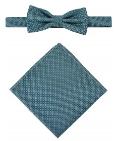 Bow Tie Victorio + pocket square Lux 087