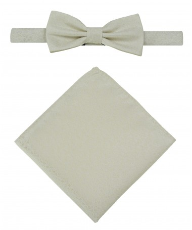 Bow Tie Victorio + pocket square Lux 088