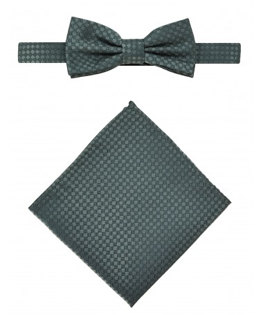 Bow Tie Victorio + pocket square Lux 091