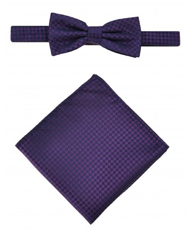 Bow Tie Victorio + pocket square Lux 092