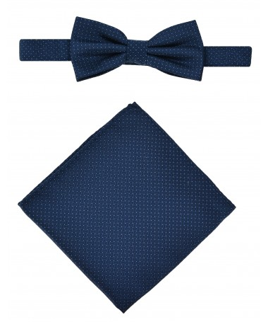 Bow Tie Victorio + pocket square Lux