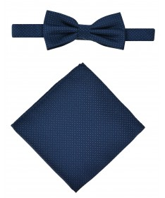 Bow Tie Victorio + pocket square Lux 098