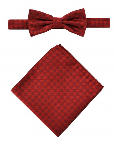 Bow Tie Victorio + pocket square Lux 100