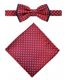 Bow Tie Victorio + pocket square Lux 101