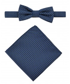 Bow Tie Victorio + pocket square Lux 102