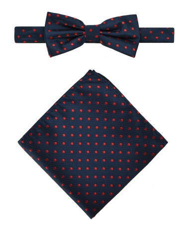 Bow Tie Victorio + pocket square Lux 104