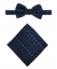 Bow Tie Victorio + pocket square Lux 105