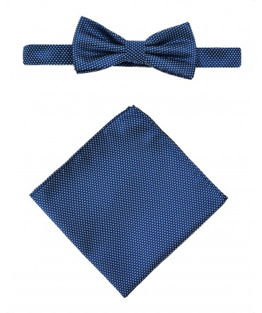 Bow Tie Victorio + pocket square Lux 107