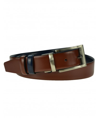 Double-sided leather belt Victorio Lux 09/15
