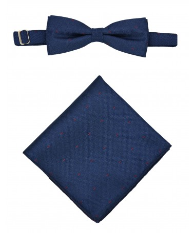 Bow Tie Victorio + pocket square Lux 110