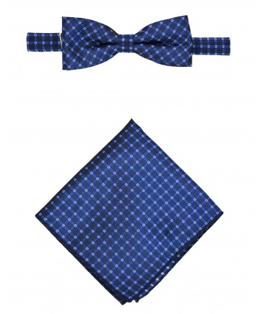 Bow Tie Victorio + pocket square Lux 109
