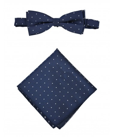 Bow Tie Victorio + pocket square Lux 115