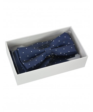 Bow Tie Victorio + pocket square Lux 114