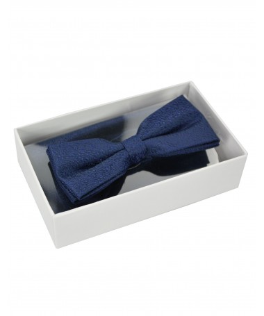 Bow Tie Victorio + pocket square Lux 116