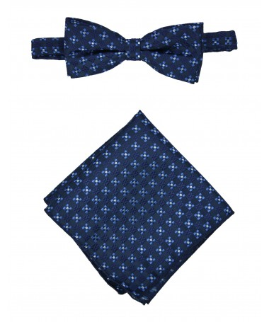 Bow Tie Victorio + pocket square Lux 117