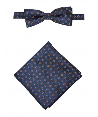 Bow Tie Victorio + pocket square Lux 118