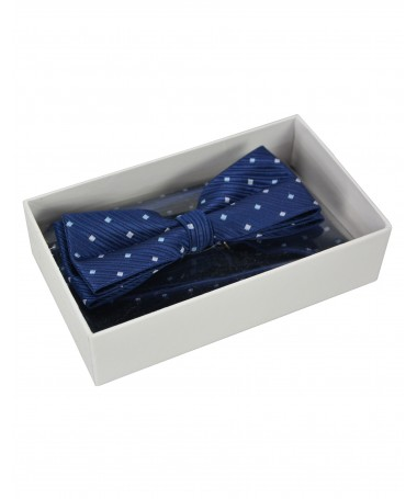 Bow Tie Victorio + pocket square Lux 119