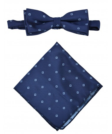 Bow Tie Victorio + pocket square Lux 121