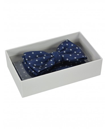 Bow Tie Victorio + pocket square Lux 123