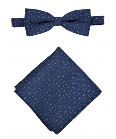 Bow Tie Victorio + pocket square Lux 133