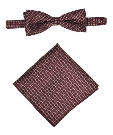 Bow Tie Victorio + pocket square Lux 132