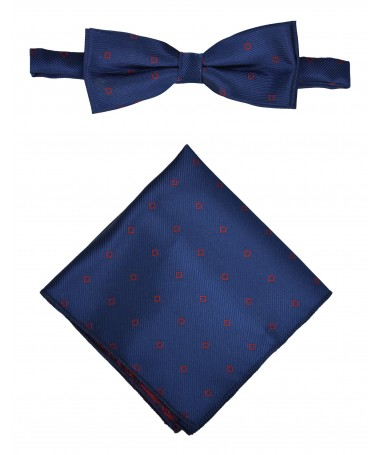 Bow Tie Victorio + pocket square Lux 134
