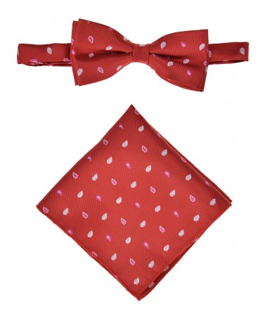 Bow Tie Victorio + pocket square Lux 128