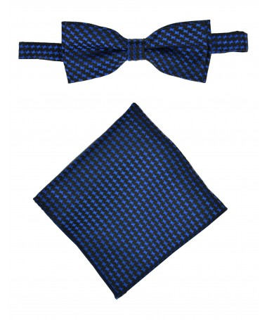 Bow Tie Victorio + pocket square Lux 135