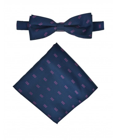 Bow Tie Victorio + pocket square Lux 108
