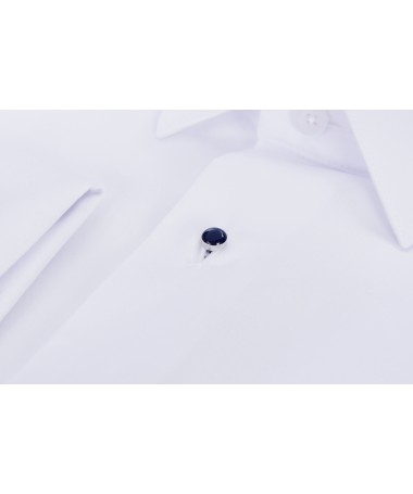 Navy blue buttons for a shirt