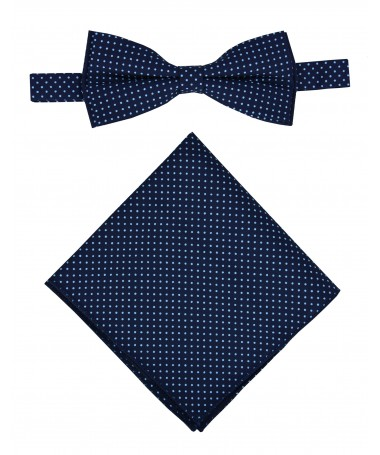 Bow Tie Victorio + pocket square Lux 139