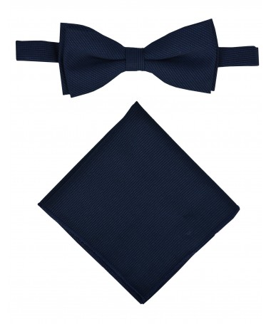 Bow Tie Victorio + pocket square Lux 140