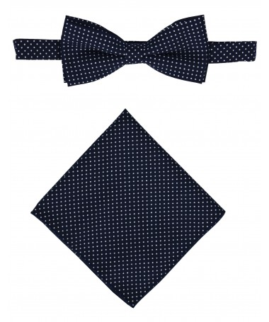 Bow Tie Victorio + pocket square Lux 142