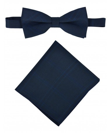 Bow Tie Victorio + pocket square Lux 144