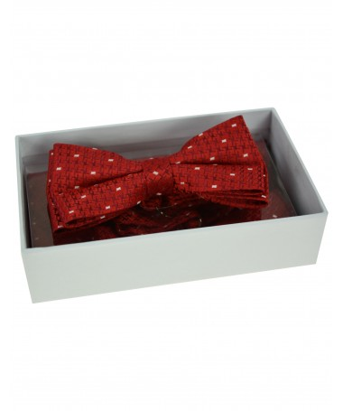 Bow Tie Victorio + pocket square Lux 147