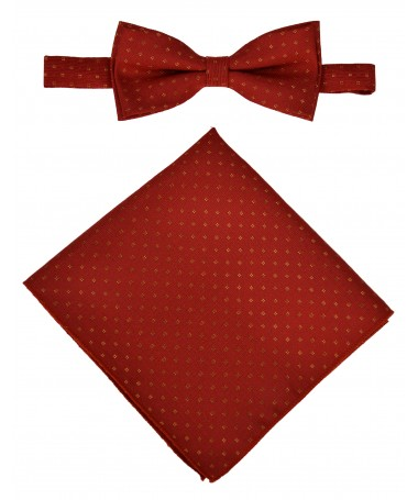 Bow Tie Victorio + pocket square Lux 150