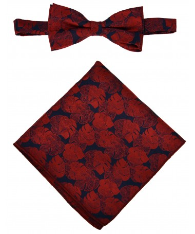 Bow Tie Victorio + pocket square Lux 151