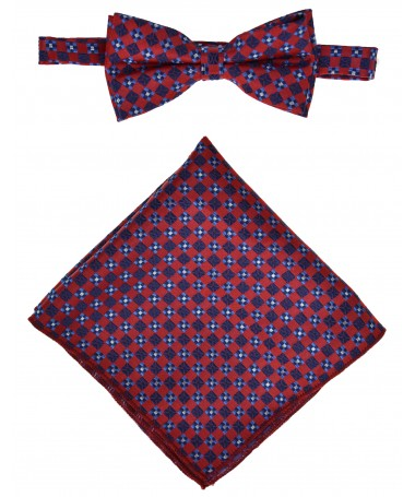 Bow Tie Victorio + pocket square Lux 153