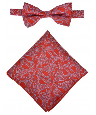Bow Tie Victorio + pocket square Lux 155