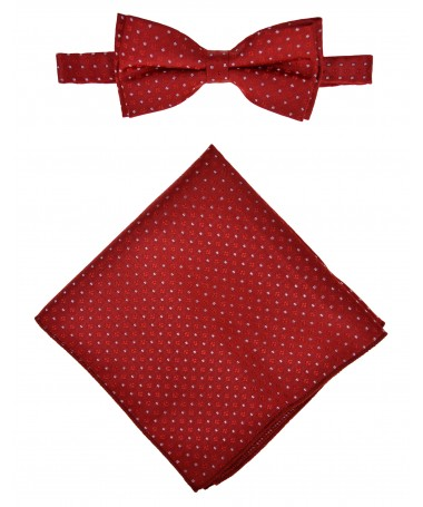 Bow Tie Victorio + pocket square Lux 157