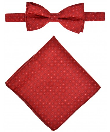 Bow Tie Victorio + pocket square Lux 159