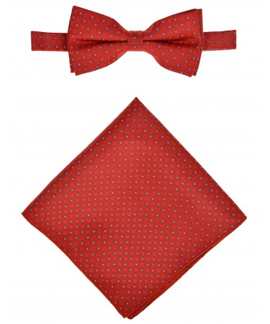 Bow Tie Victorio + pocket square Lux 160