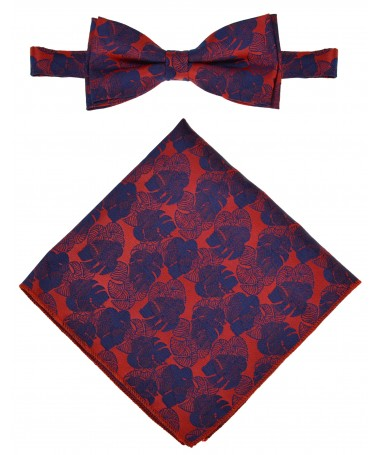 Bow Tie Victorio + pocket square Lux 162